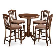 Eden 5 Piece Counter Height Pub Table Set