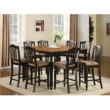Chelsea 9 Piece Counter Height Pub Table Set
