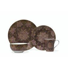 Eva Opulent 16 Piece Dinnerware Set