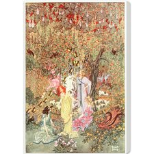 Fairy Gathering by Olivia's Easel Canvas Art