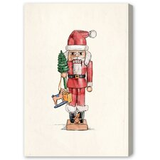 "Blakely Home Nutcracker by Olivia""s Easel Canvas Art"
