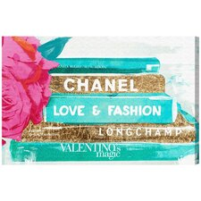 Ideals of Style Graphic Art on Wrapped Canvas