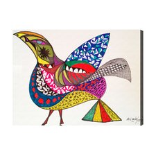 Oliver Gal Bird Graphic Art on Canvas