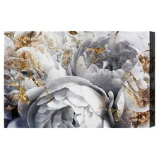 """Her Peony Garden"" by Oliver Gal Painting Print on Wrapped Canvas"