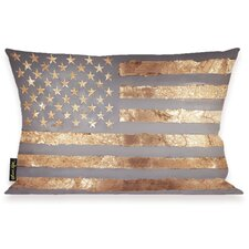 Oliver Gal Home Rocky Freedom Lumbar Pillow