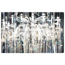 """Diamond Shower"" by Runway Avenue Graphic Art on Wrapped Canvas"