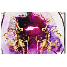 Smoking Agate by Artana Graphic Art on Wrapped Canvas