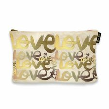 """6"""" H x 9"""" W Four Letter Word Jewelry Pouch"""