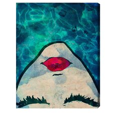 Watercoveted Graphic Art on Wrapped Canvas