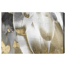 Royal Feathers Graphic Art on Wrapped Canvas
