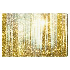 Magical Forest Graphic Art on Wrapped Canvas