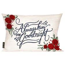 Home Goodnight Throw Pillow