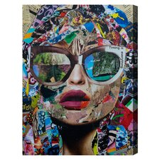 'Timing Is Everything' by Katy Hirschfeld Graphic Art on Wrapped Canvas