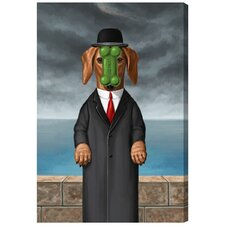 'Son of Dog' by Carson Kressley Graphic Art on Wrapped Canvas