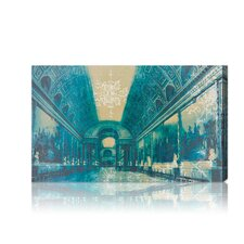 "Burst Creative """"Gallery of Battles Versailles Blue"""" Photographic Print on Canvas"