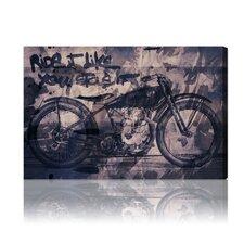 Hatcher & Ethan Ride It Graphic Art on Canvas