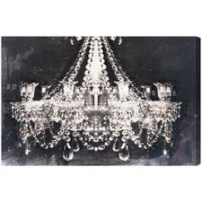 Dramatic Entrance Night Graphic Art on Wrapped Canvas