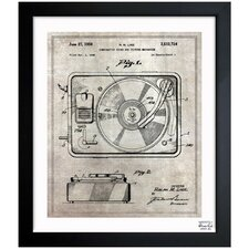Combination Sound and Picture 1950 Framed Graphic Art