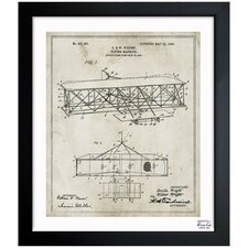 Wright Flying-Machine 1906 Framed Graphic Art