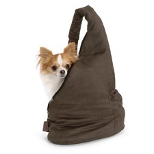 Velvet Messenger Soft Pouch Pet Carrier