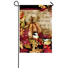 Country Roads Garden Flag