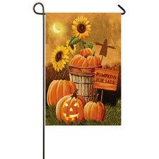Pumpkin Patch for Sale Garden Flag