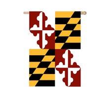 Maryland State Vertical Flag