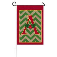 Holy Monogram Garden Flag