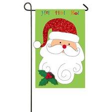 Christmas Santa Garden Flag