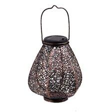 Moroccan Solar Metal Lantern