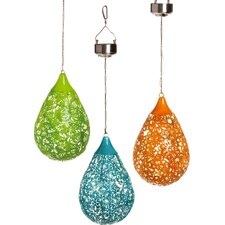 Stephanie Hanging Solar Lantern (Set of 3)