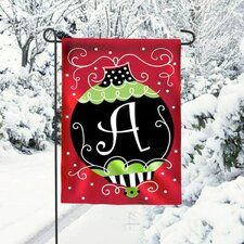 Christmas Bling Garden Flag
