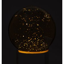 Mercury Glass Light Up Accent Ball