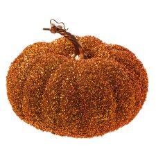 Rusted Glitter Pumpkin