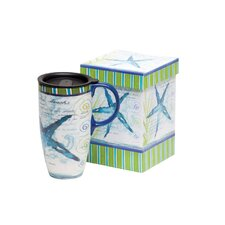 Starfish Latte Travel Mug