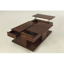 Dail Coffee Table with Double Lift-Top