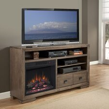 Escudilla TV Stand with Electric Fireplace