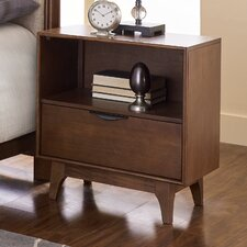Lucia 1 Drawer Nightstand