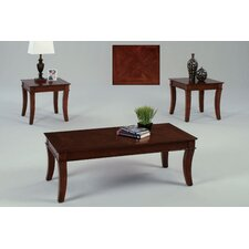 Corona 3 Piece Coffee Table Set