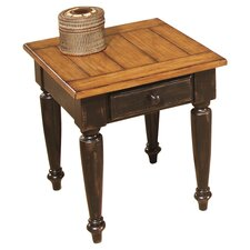Country Vista 1 Drawer End Table