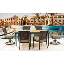 Mercer 7 Piece Dining Set with Cushions