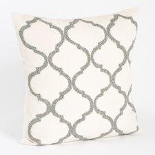 Zsa Zsa Moroccan Design Beaded Throw Pillow