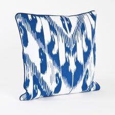 Kazhdam Ikat Design Cotton Throw Pillow