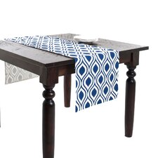 Teardrop Design Printed Table Runner