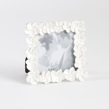 Enamel Flower Photo Picture Frame