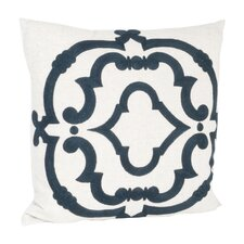 Rue Serret Embroidered Design Throw Pillow