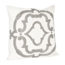 Rue Serret Embroidered Design Throw Pillow