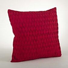 Malawi Diamond Pleated Cotton Throw Pillow