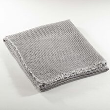 L'Excellence Waffle Weave Linen Throw Blanket