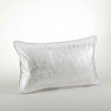 Agatha Metallic Banded Cotton Lumbar Pillow